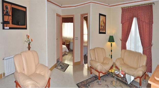 نمای اتاق های هتل شهاب گرگان-شهاب