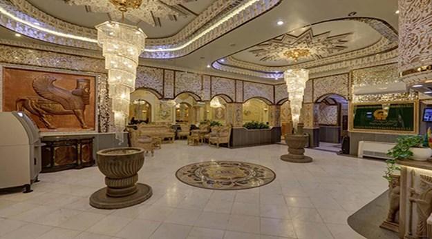 نمای داخلی هتل زهره اصفهان-زهره