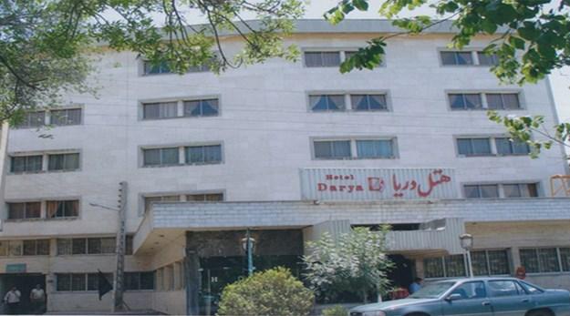 نمای هتل دریا تبریز-دریا