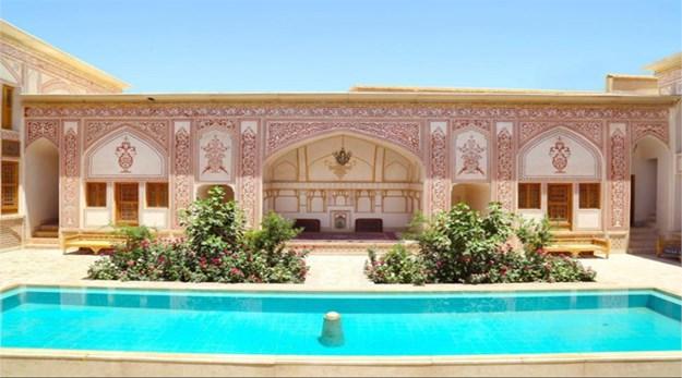 حیاط-مهینستان راهب