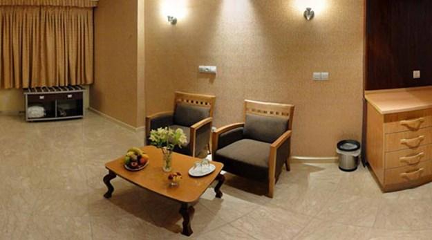 نمای اتاق های هتل پیروزی اصفهان-پیروزی