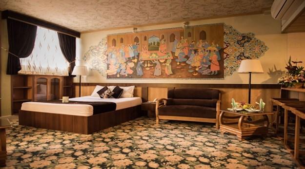 اتاق های هتل زهره اصفهان-ستاره