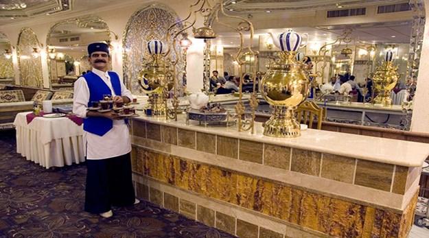 سفره خانه هتل زهره اصفهان-ستاره