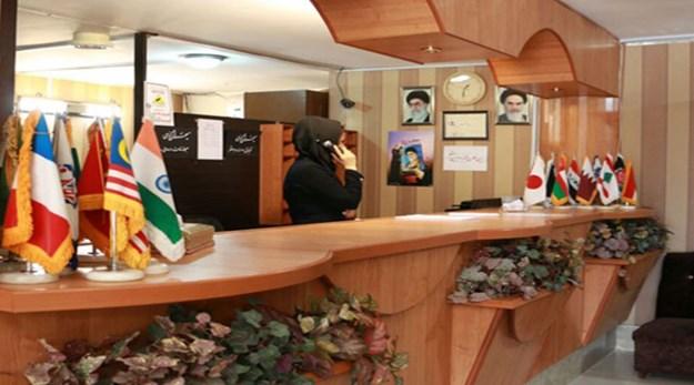 پذیرش هتل همام اصفهان-همام