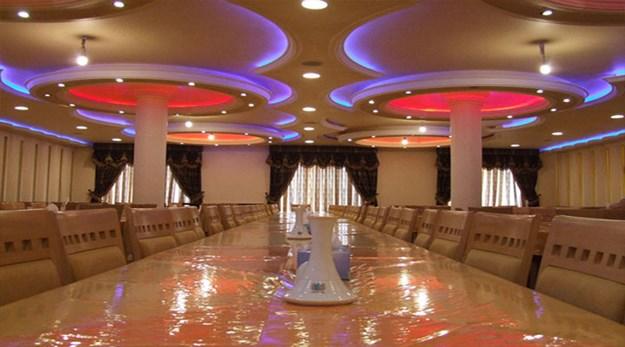 نمای رستوران هتل سبلان اردبیل-سبلان