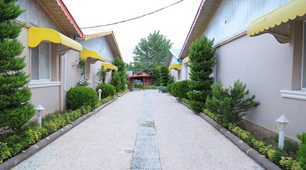 فضای باز هتل بهشت تالاب بندر انزلی-بهشت تالاب