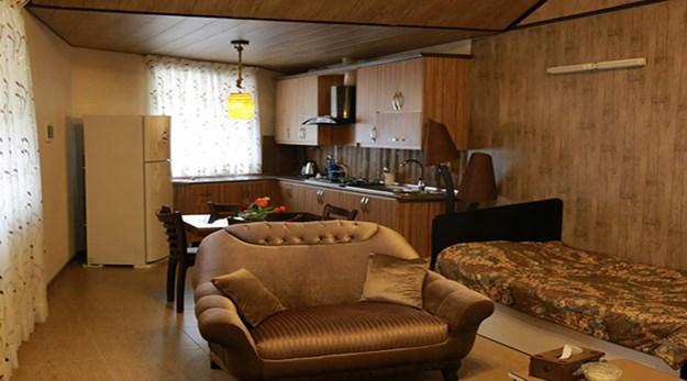 اتاق هتل بهشت تالاب بندر انزلی-بهشت تالاب