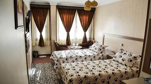 نمای اتاق هتل پامچال تهران-پامچال
