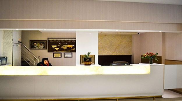 نمای پذیرش هتل پامچال تهران-پامچال