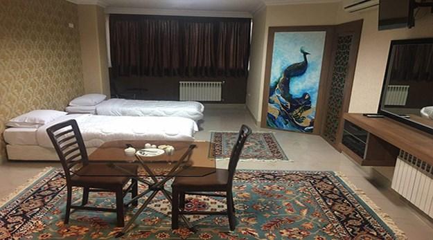 اتاق هتل زنده رود اصفهان-زنده رود  (یاقوت سابق)