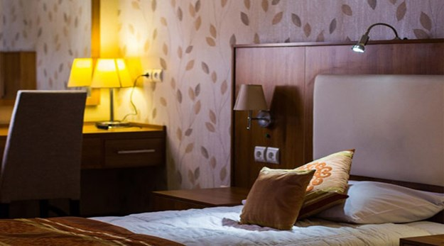 نمای اتاق هتل شهر تهران-شهر