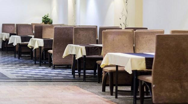 نمای رستوران هتل شهر تهران-شهر