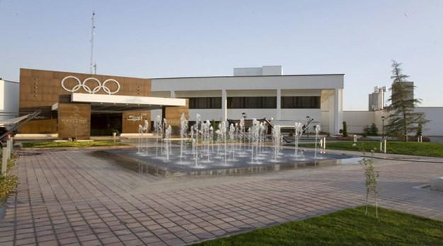 ورودی هتل المپیک تهران-المپیک