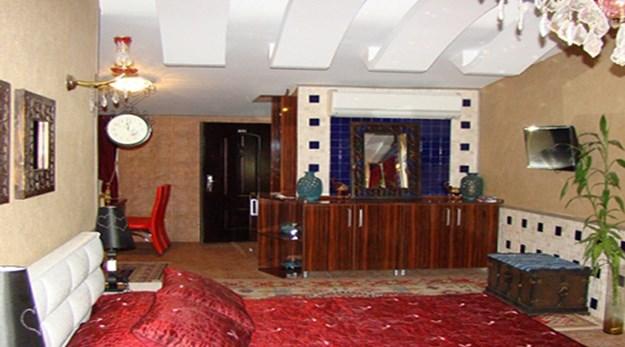 نمای اتاق هتل شیان تهران-شیان