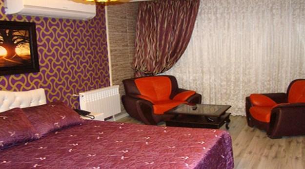 نمای اتاق دو تخته هتل شیان تهران-شیان