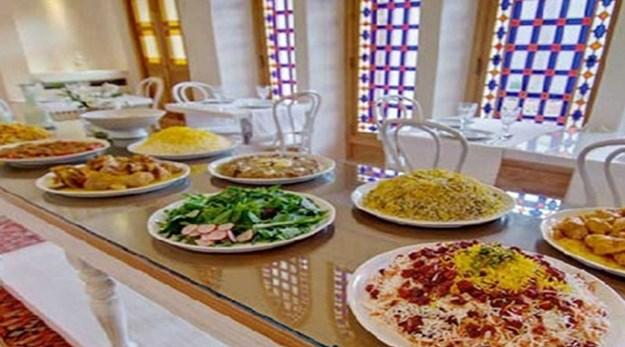 رستوران هتل خانه منوچهری کاشان-خانه منوچهری