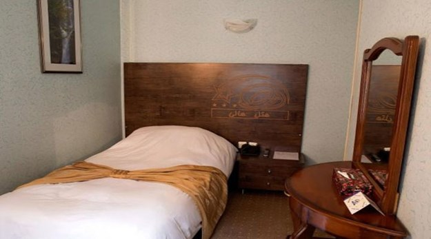 نمای هتل هالی تهران-هالی