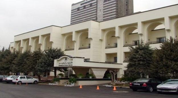 ورودی هتل پارسیان اوین تهران-پارسیان اوین