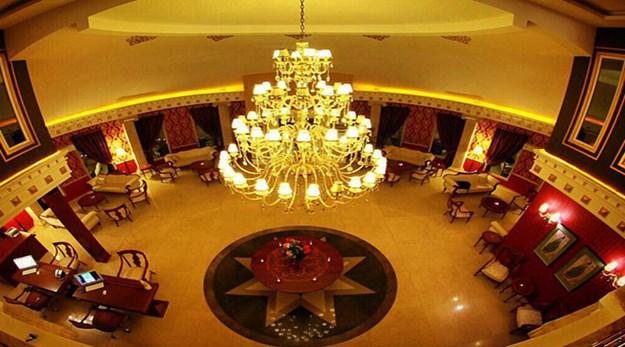 نمای لابی هتل دریایی ترنج کیش-ترنج