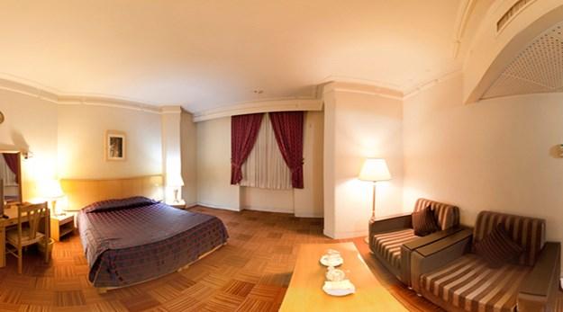 نمای اتاق های هتل بین المللی قم-بین المللی