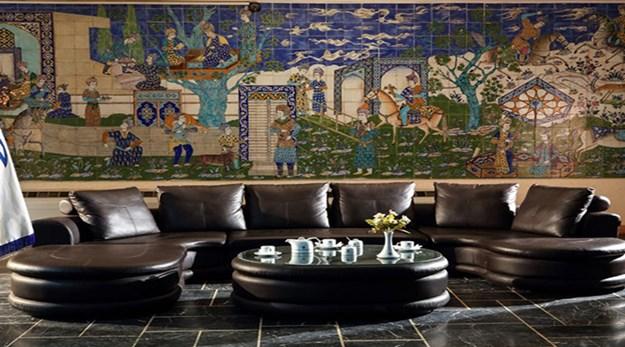 لابی هتل جهانگردی دیزین- جهانگردی (مجتمع بین المللی)