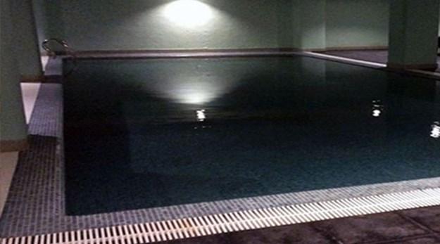 نمای استخر هتل بوتانیک گرگان-قصر بوتانیک