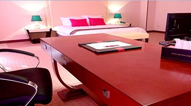 نمای هتل بوتانیک گرگان-قصر بوتانیک