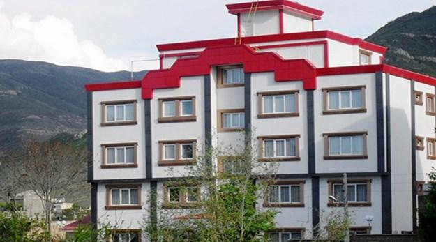 نمای بیرونی هتل آنزا کلیبر-آنزا