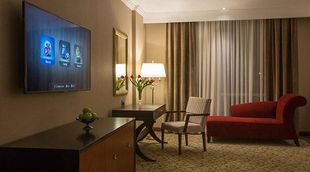 نمای اتاق هتل اسپیناس پالاس تهران-اسپیناس پالاس