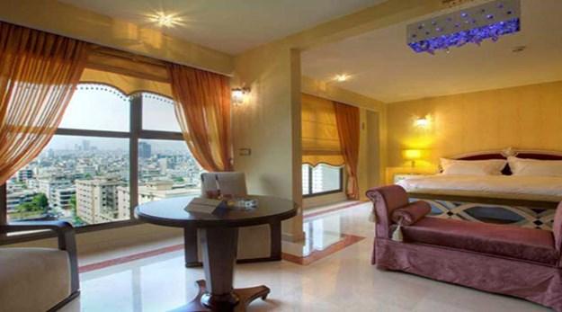 نمای اتاق هتل اسپیناس تهران-اسپیناس