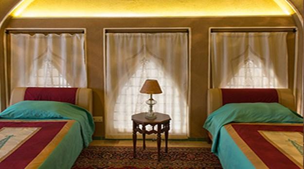 اتاق هتل عامری ها کاشان-سرای عامری ها