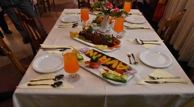 رستوران هتل آورین تهران-اورین