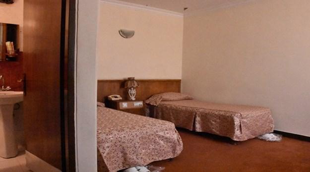 نمای اتاق های هتل آورین تهران-اورین