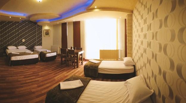 اتاق هتل دورنا مشگین شهر-جهانگردی دورنا