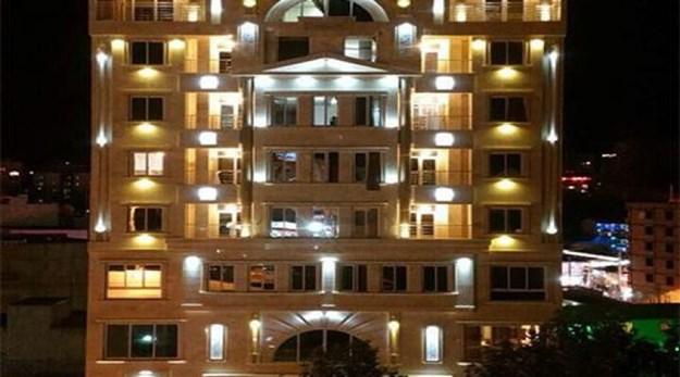 نمای ساختمان هتل کوروش سرعین-کوروش