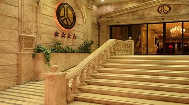 نمای بیرونی هتل بزرگ ۲ تهران-بزرگ ٢
