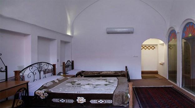 اتاق هتل خانه احسان کاشان-خانه تاریخی احسان