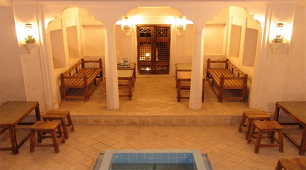 رستوران هتل خانه احسان کاشان-خانه تاریخی احسان