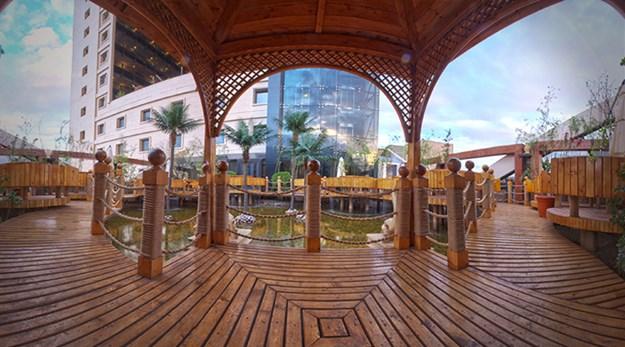 نمای زیبا هتل درویشی مشهد-درویشی