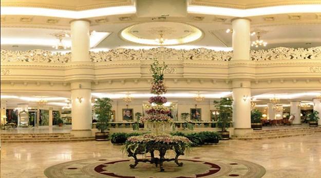 لابی هتل قصر طلایی مشهد-قصر طلایی