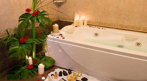 نمای سرویس بهداشتی هتل قصر طلایی مشهد-قصر طلایی