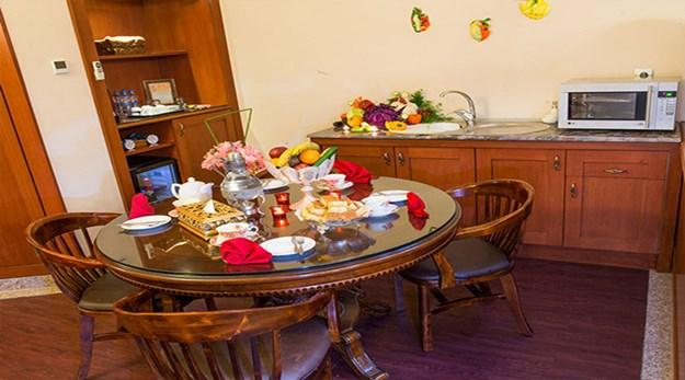 نمای سوییت هتل قصر طلایی مشهد-قصر طلایی