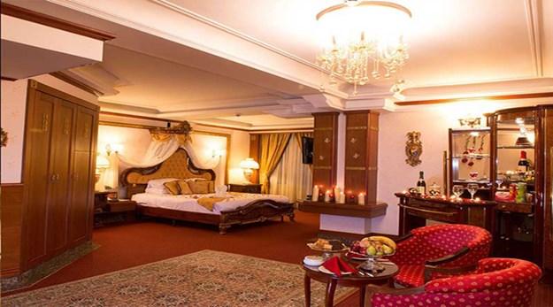 نمای اتاق های هتل قصر طلایی مشهد-قصر طلایی