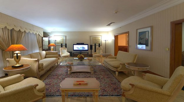 نمای هتل استقلال تهران-استقلال