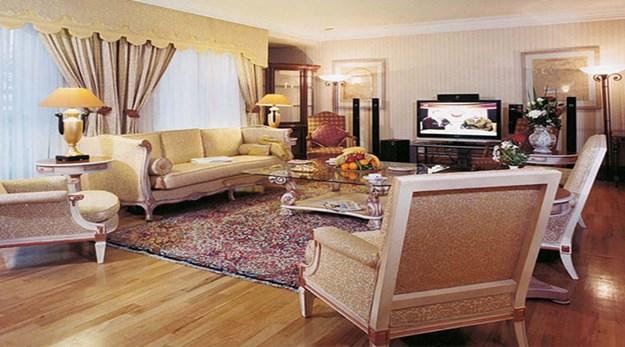 نمای اتاق هتل استقلال تهران-استقلال