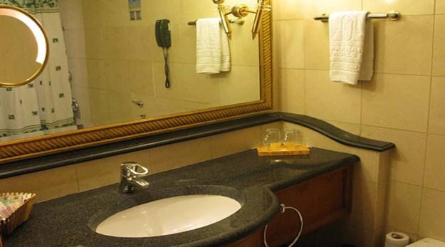 نمای سرویس بهداشتی هتل استقلال تهران-استقلال
