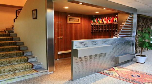 پذیرش هتل شورابیل اردبیل-شورابیل