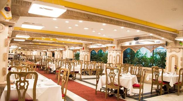 نمای هتل فردوسی تهران-فردوسی