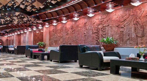 نمای داخلی هتل فردوسی تهران-فردوسی
