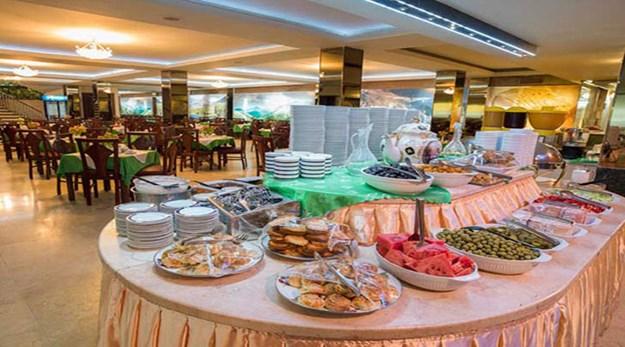 نمای رستوران هتل فردوسی تهران-فردوسی